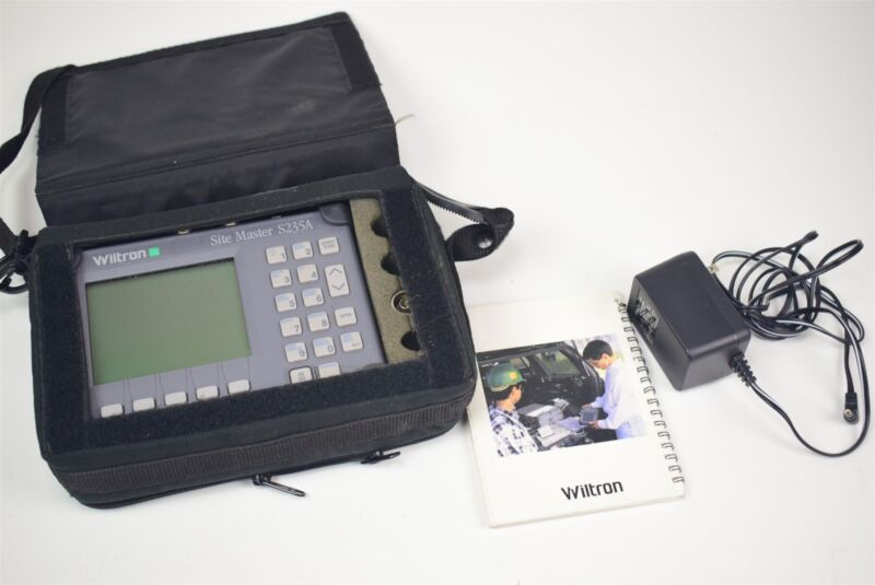 Wiltron Site Master S235A cable and antenna analyzer