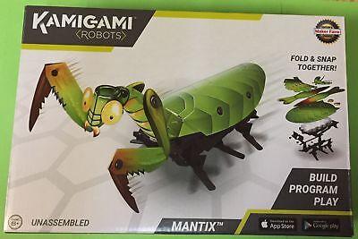 DASH Robotics Build It Yourself PRAYING MANTIS New Kamigami MANTIX Robot Kit