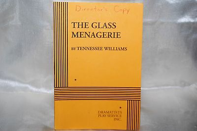 The Glass Menagerie Play Book 1976 Drama Theater Dramatist Plays Free Shipping