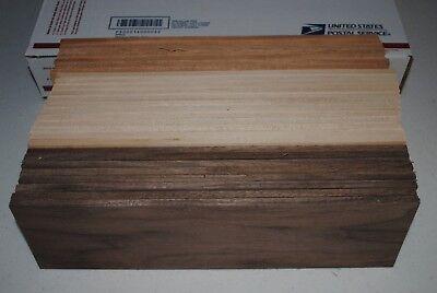 8 WALNUT 7 CHERRY 12 MAPLE WOOD BOARDS 3 1/2