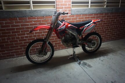 2006 Honda CRF 450 plus trailer Sutherland Sutherland Area Preview