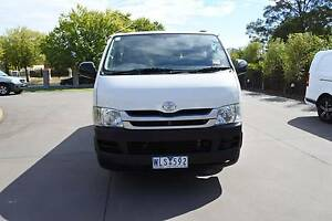 2007 TOYOTA HIACE DUAL FUEL VAN IN VERY GOOD CONDITION Hampton Park Casey Area Preview