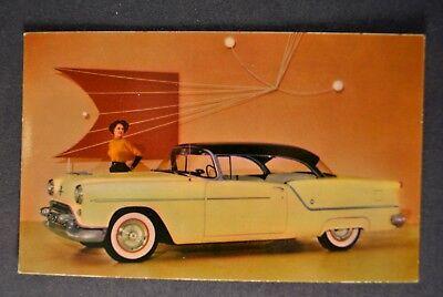 1954 Oldsmobile Super 88 Holiday Coupe Postcard Brochure Excellent Original 54 ()