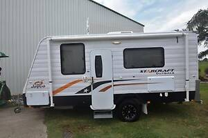 2013 17'6 JAYCO STARCRAFT OUTBACK FULL ENSUITE CARAVAN Gympie Gympie Area Preview