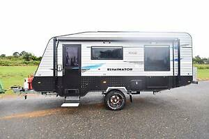 2015 17'6 RIVER ELIMINATOR FULL OFF ROAD SHOWER TOILET CARAVAN Gympie Gympie Area Preview
