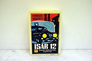 Bielefelder Spielkarten Quartett 0152 ISAR 12 in Box*