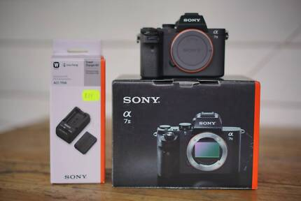 Sony A7ii with extras 'as new'