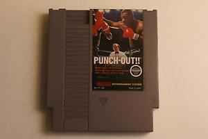 Mike Tyson's Punch-Out NES Game Great Nintendo Boxing Action!