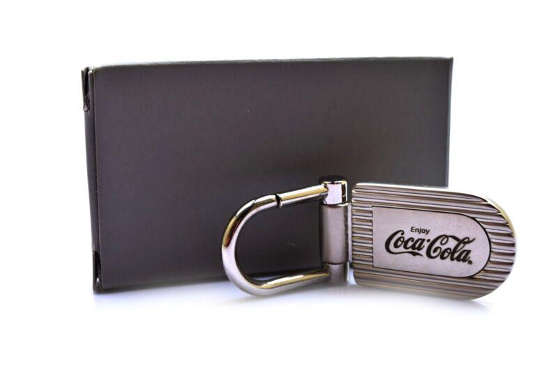 Coca Cola Coke Metal Keychain Enjoy Coca Cola NIB