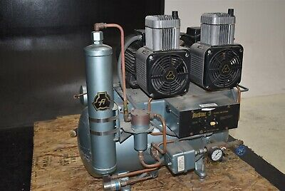 Air Techniques Airstar 3 Dental Air Compressor Unit Quiet