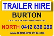 TRAILER HIRE BURTON FROM $29 PER DAY Burton Salisbury Area Preview