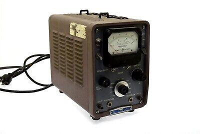 Hewlett Packard Hp 500b Frequency Meter Serial 1268
