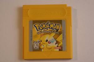 Pokemon Yellow Gameboy/Gameboy Color Game - Pikachu Edition!