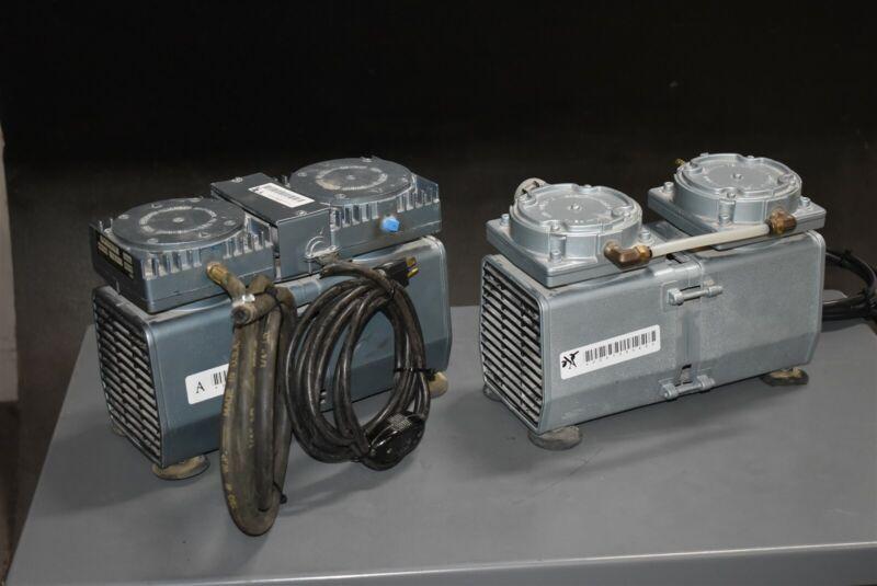 Lot of 2 Gast Daa-124A-Eb Dental Dentistry Laboratory Vacuum Pump Units 115V