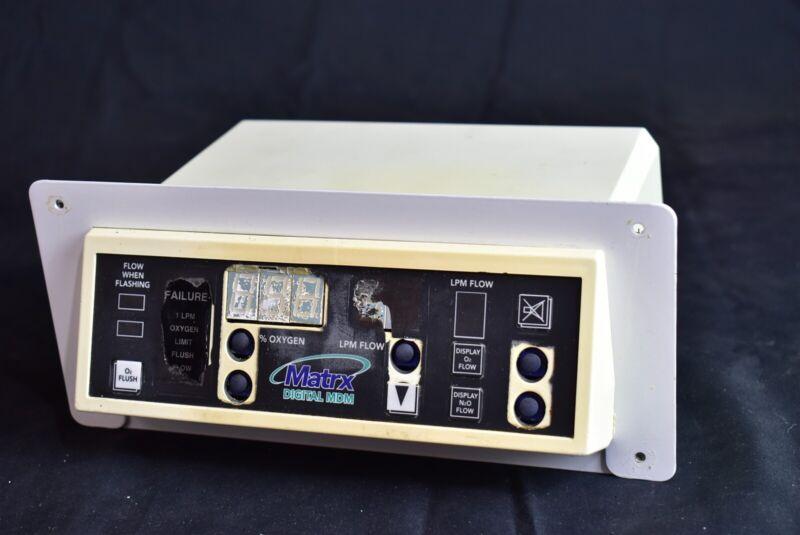 Matrx MDM-D Dental Nitrous Unit for Flowmeter Conscious Sedation-Low Price