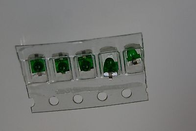 100pcs Led Mini 1mm Green Hlmp-7040011 Hewlett Packard