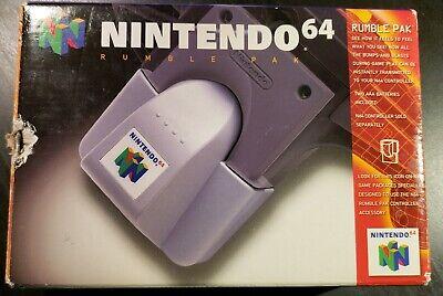 Rumble Pak Nintendo 64 N64 Complete In Box CIB Shaker OEM Video Game Tremor Pack comprar usado  Enviando para Brazil