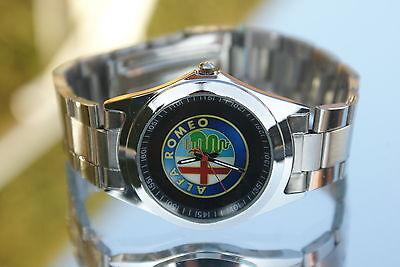 Uhr Alfa Romeo Armbanduhr Brera Giulietta Stelvio Giulia 4C 8C Crosswagon clock