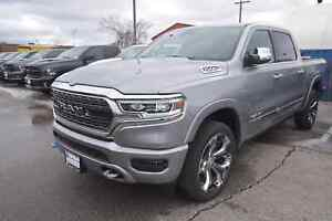 2019 Ram All-New 1500 LIMITED|12IN.UCONNECT|NAV|PANO ROOF|22IN.R