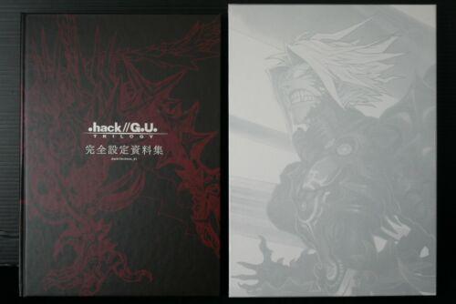 japan 42) .hack//G.U. Trilogy Kanzen Settei Shiryoushuu (Art Book)