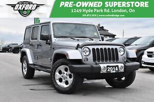 2014 Jeep WRANGLER UNLIMITED Sahara - One Owner, Running Boards,