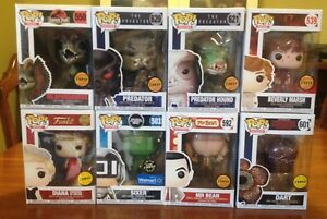 Funko Pop! Figures - chases, regulars and mystery minis