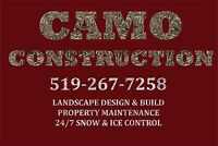 Camo Construction Winter 2016/2017 Snow Removal Services