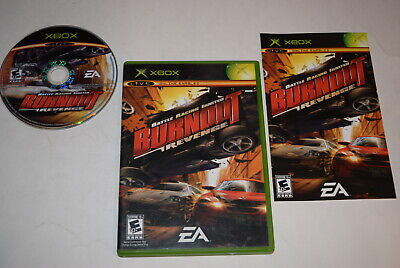 Burnout Revenge Microsoft Xbox Video Game Complete for sale  Shipping to Nigeria