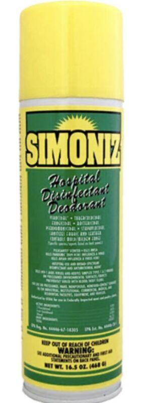 Simoniz Hospital Disinfectant Spray