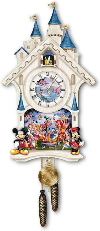 The Bradford Exchange Disney Character Cuckoo Clock Happiest Of Times Mickey