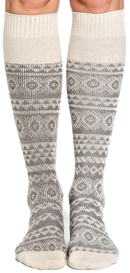 Calza Donna Stance Boot Socks Chelsea Grigio/Rosa Socks Woman Grey/Pink