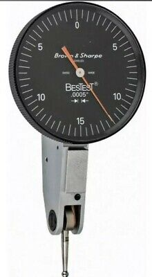 Brown Sharpe Bestest 599-7031-5 .0005 .030 Dial Test Indicator - Brand New