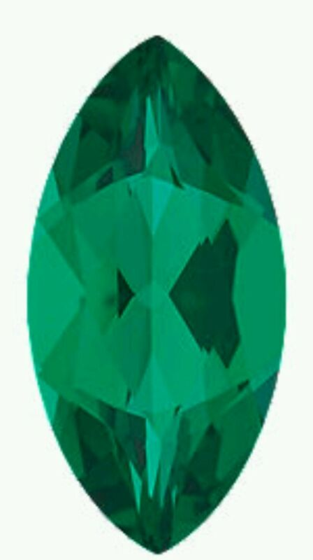 Chatham emerald marquise 10 x 5 lab created emerald loose