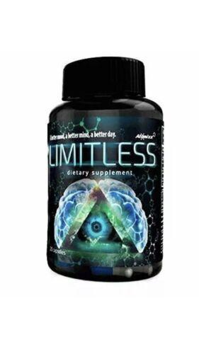 5 Limitless Bottles 20ct Pills Atomixx Blend Mood Focus Anti Anxiety Stress Free