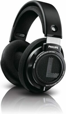 Philips Audio SHP9500S HiFi Precision Stereo Over-Ear Headphones (Black)