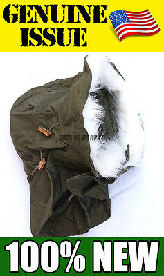 NEW GENUINE US Military HOOD Extreme Cold Weather  FUR M-65 M-51 FISHTAIL PARKA