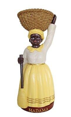 Yellow Dress Madama Statue Fortune Teller Santeria Africana 12 Inches - Fortune Teller Clothes