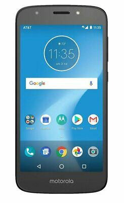 Motorola E5 Play 16GB Worldwide GSM - Black