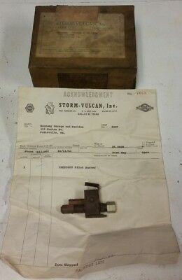 Storm Vulcan 260t0602 Pilot Burner New Old Stock Dated 1962