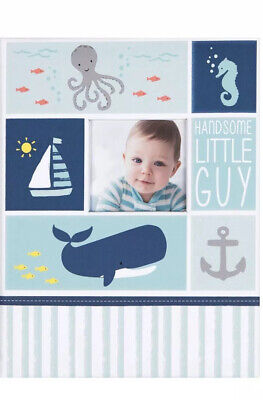C.R. Gibson First 5 Years Memory Book, by Carters, UNDER THE SEA Baby Book