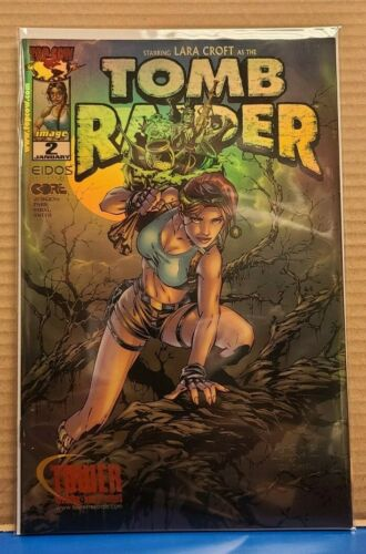 TOMB RAIDER 2 TOWER RECORDS HOLOFOIL VARIANT VF/NM