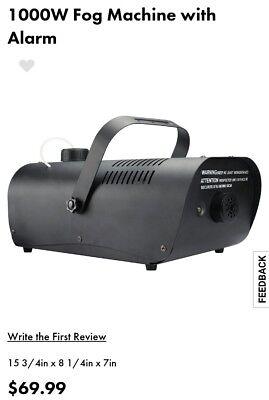 New 1000W Fog Machine with Alarm Heavy Duty Halloween  - Halloween Fog Machine 1000w