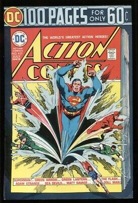 ACTION COMICS (1938) #437 8.0 VF / 100 PAGE SPECTACULAR
