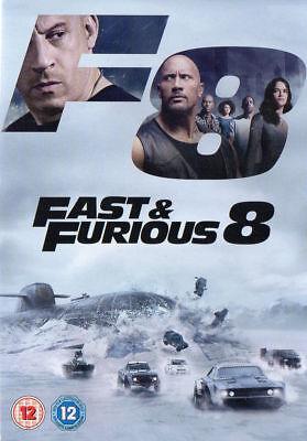 Fast and Furious 8 DVD Brand New & Sealed* 1st Class Postage*  Region 2 UK