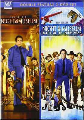 2 Movie Night At The Museum 1   2   Dvd Double Feature   Brand New