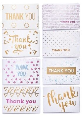 Unique 40 Blank Thank You Note Cards and Envelopes for Birthday Kids Baby Shower](Thank You Notes For Baby Shower)