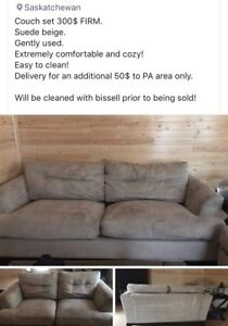 Couch set 300$