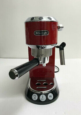 Delonghi EC680.R Dedica 15 Bar Pump Espresso and Cappuccino Maker, Red