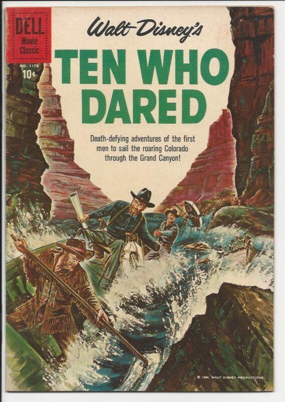 1960 Dell Four Color 4C #1178 Ten Who Dared VF