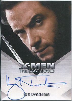 X Men 3 The Final Stand Autograph Card Hugh Jackman as Wolverine